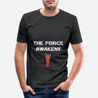 The Force Awakens Penis the force awakens star war - jedi - Männer Slim Fit T-Shirt