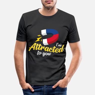 Attractive Attractive - Men's Slim Fit T-Shirt