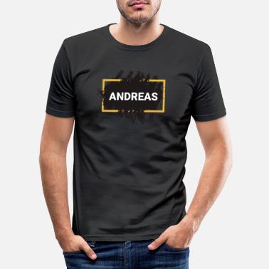 Andreas Name - Männer Slim Fit T-Shirt