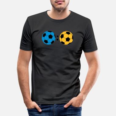 Tor ball : ball - Männer Slim Fit T-Shirt