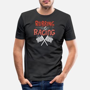 Course Automobile Course automobile - T-shirt moulant Homme
