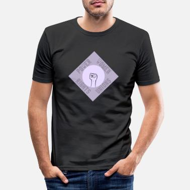 Internationale Spiele Internationaler Frauentag - Männer Slim Fit T-Shirt