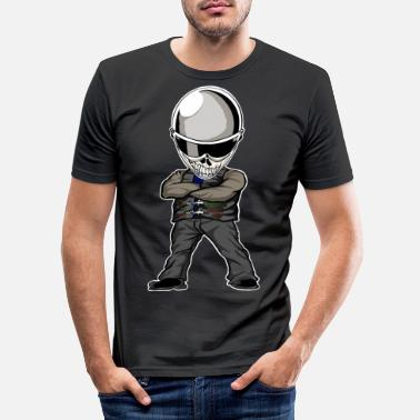 Streetfighter Méchant Streetfighter - T-shirt moulant Homme