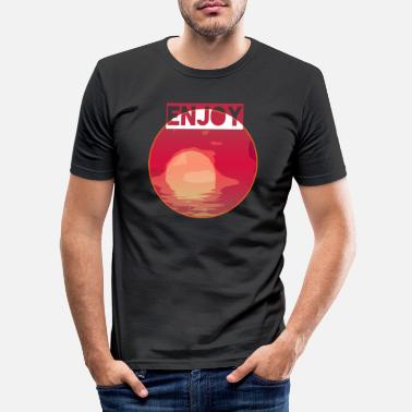 Sun Sun - Men's Slim Fit T-Shirt