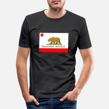 Californien Californien Republik - Slim fit T-shirt mænd