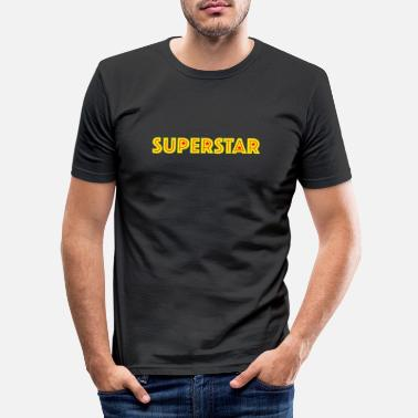 Superstar superstar - T-shirt moulant Homme