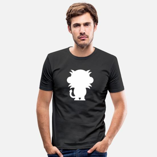 Animal Planet T-Shirts - Animals Animals Animal Print Nature 16 - Men's Slim Fit T-Shirt black
