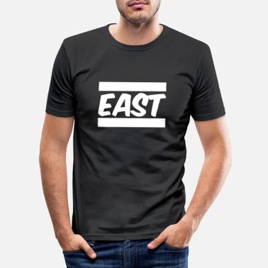East East - Men's Slim Fit T-Shirt