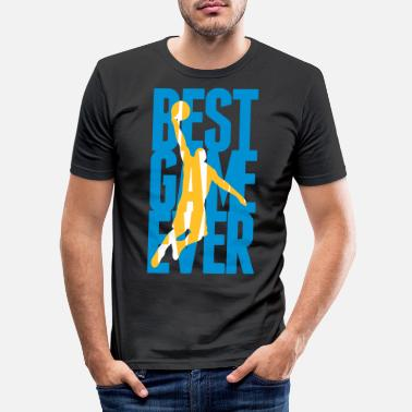 Sports Best Game ever - Basketball - Slim fit T-shirt mænd