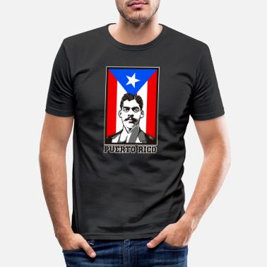 Caribbean Arturo Alfonso Schomburg - Historian And Activist - Men's Slim Fit T-Shirt