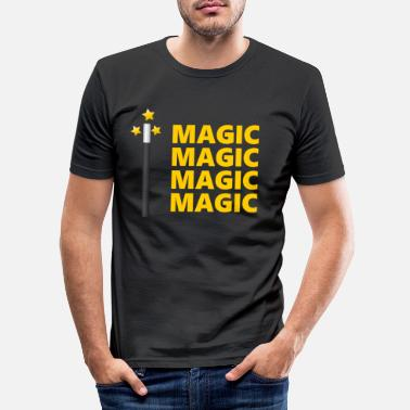 Magic Magic Magic Magic Magic - Men's Slim Fit T-Shirt