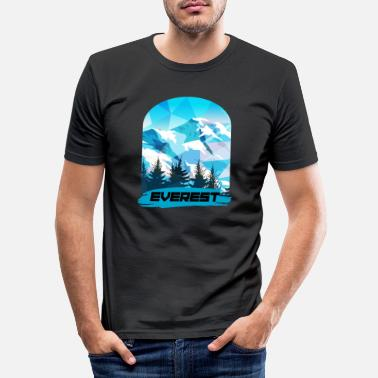 Everest Mount Everest - Männer Slim Fit T-Shirt