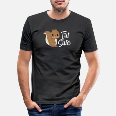 Squirrel Squirrel - squirrel fan - squirrel - Men's Slim Fit T-Shirt