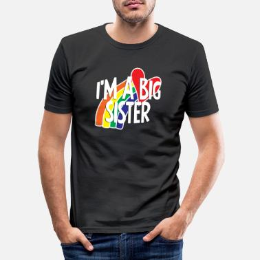 Big Sister Big sister family Big Sister - Men's Slim Fit T-Shirt