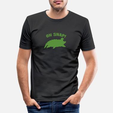 Breuk breuk - Mannen slim fit T-shirt