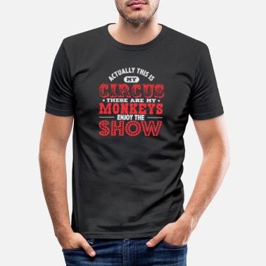 Cirkus cirkus - T-shirt slim fit herr
