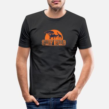 Safari Safari Safari - Männer Slim Fit T-Shirt