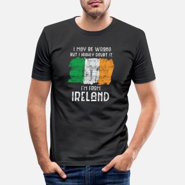 Europa Irland - Slim fit T-shirt mænd