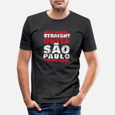 Verden Sao Paulo - Slim fit T-shirt mænd