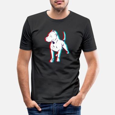 Anaglyph Rotti Anaglyph - Men's Slim Fit T-Shirt