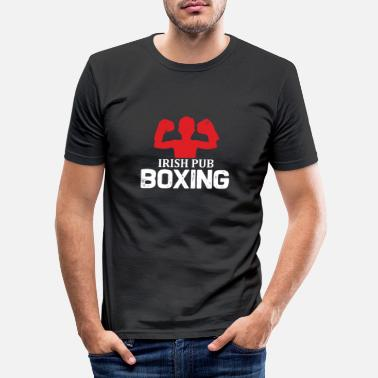 Irish Pub Irish Pub Boxing - Männer Slim Fit T-Shirt