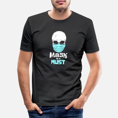 Heavy Metal Skull skull skull skeleton gift - Men's Slim Fit T-Shirt