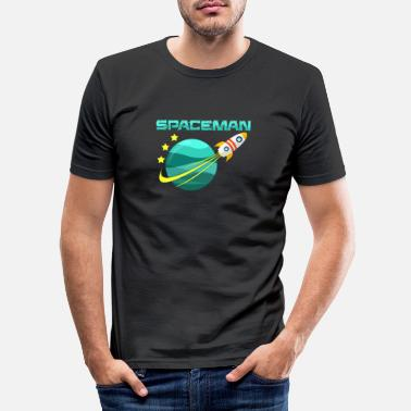 Spaceman spaceman - Slim fit T-shirt mænd