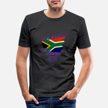 Cape Town South Africa - Men's Slim Fit T-Shirt