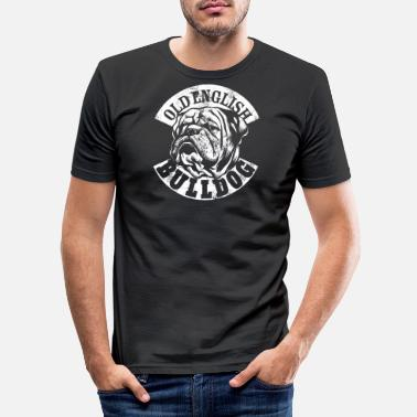 Bulldog Old English Bulldog - Männer Slim Fit T-Shirt