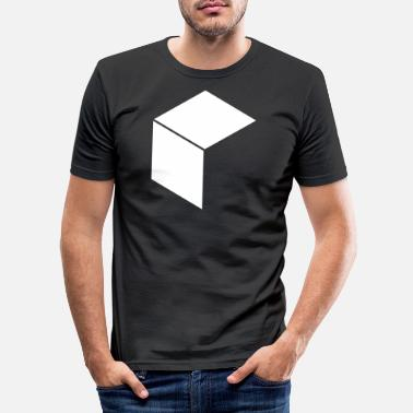 Cube cube - Men's Slim Fit T-Shirt