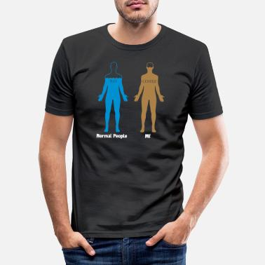 Coffee Funny Coffee Lover - Men's Slim Fit T-Shirt