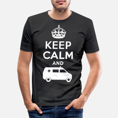 Ambulance Ambulance - ambulance - DE - T-shirt moulant Homme