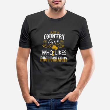 Country Country - Männer Slim Fit T-Shirt