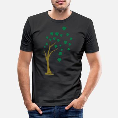 Deciduous Tree deciduous tree - Men's Slim Fit T-Shirt