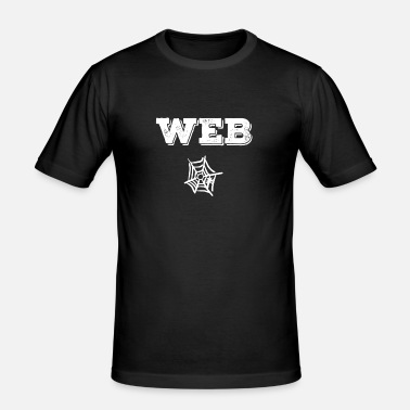 Web WEB - Männer Slim Fit T-Shirt