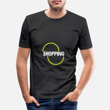 Shopping Shopping - shopping - Slim fit T-shirt mænd