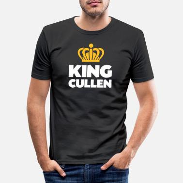 Cullen King cullen name thing crown - Men's Slim Fit T-Shirt