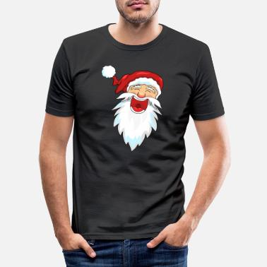 Kerstman Kerstman Kerstman - Mannen slim fit T-shirt
