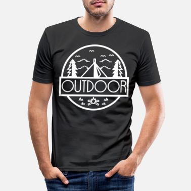 Outdoor Outdoor - Männer Slim Fit T-Shirt