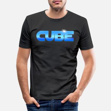 Cubes CUBE - Männer Slim Fit T-Shirt