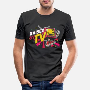 Kanal Rejst af TV Watching Television Show Movie Gift - Slim fit T-shirt mænd