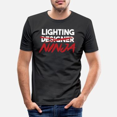 Blitz Lighting Ninja Light Engineer Professione Regalo di lavoro - Maglietta slim fit uomo