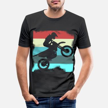 Motocross Motocross - Slim fit T-skjorte for menn