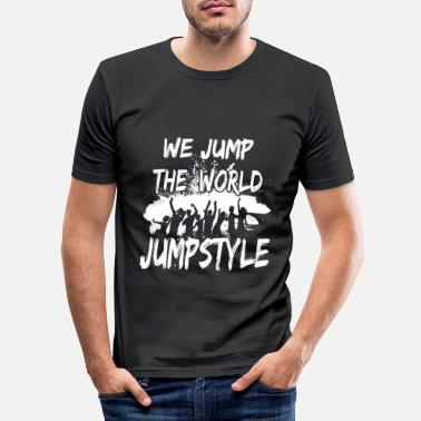 Jumpstyle jumpstyle - T-shirt slim fit herr
