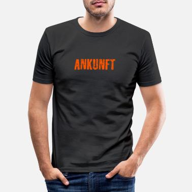 Arrive Arrivals - Men's Slim Fit T-Shirt