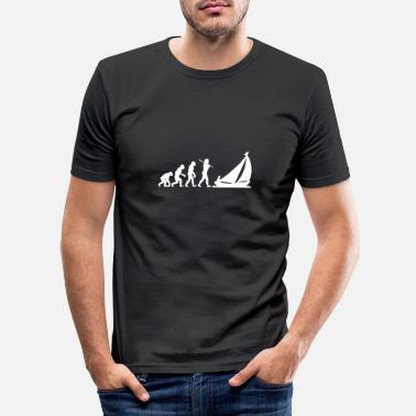 Evolution Evolution Sailing - Sailing - Shirt - Men's Slim Fit T-Shirt