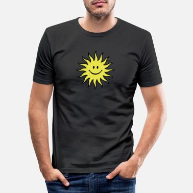 Risada Sun - Men's Slim Fit T-Shirt