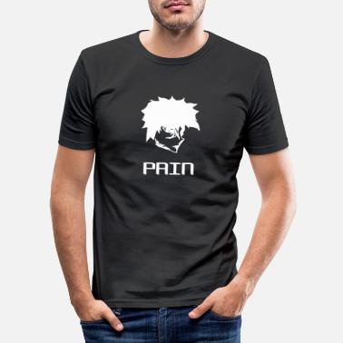 Pijn pijn - Mannen slim fit T-shirt