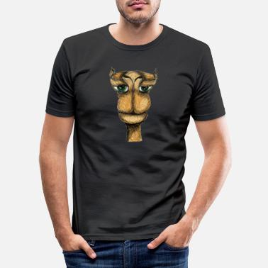 Hallo, Kamel - Männer Slim Fit T-Shirt