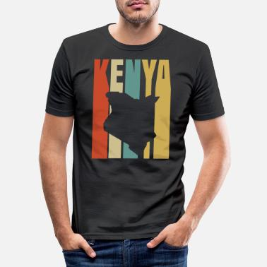East Kenya - Men's Slim Fit T-Shirt